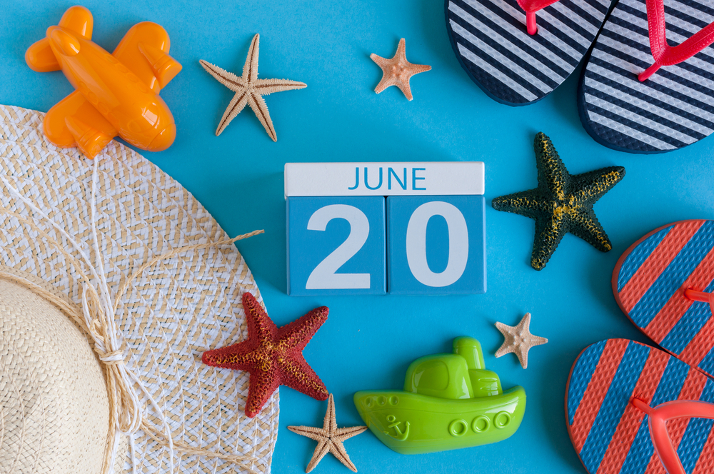6月20日、今日は何の日??