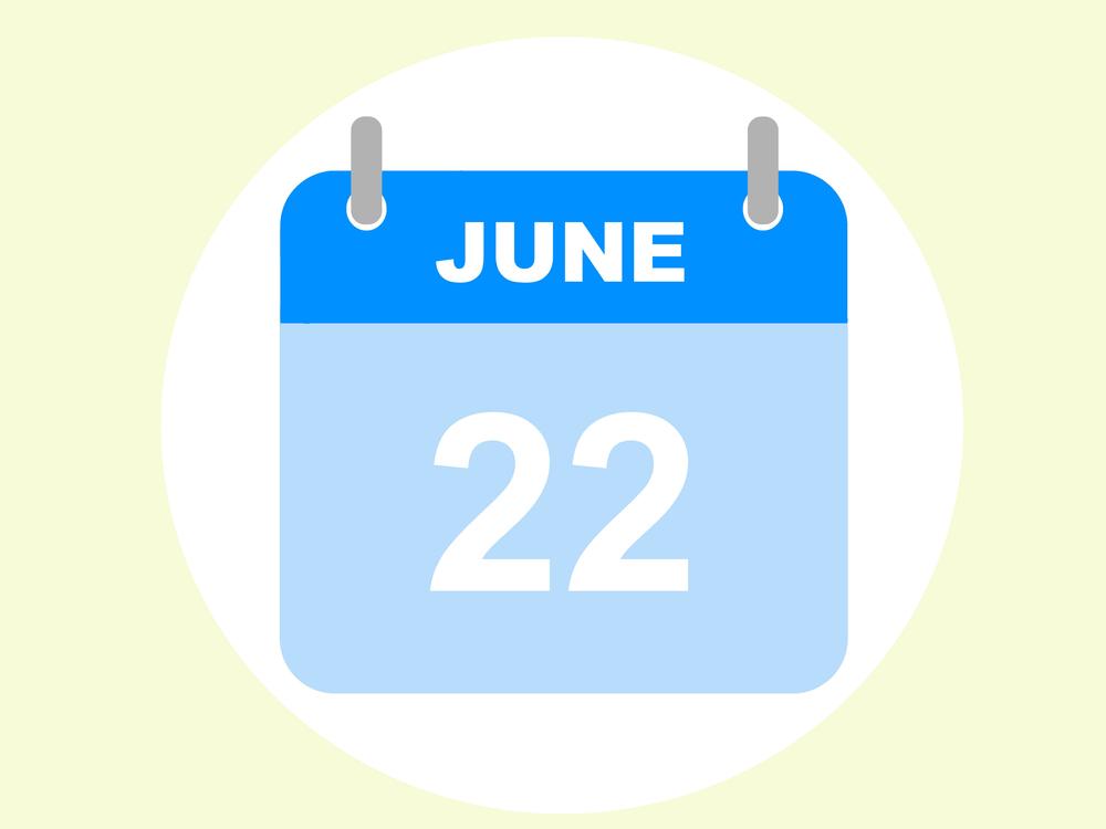 6月22日、今日は何の日??