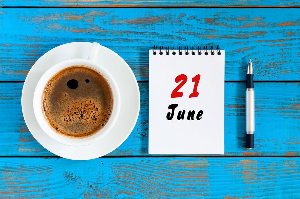 6月21日、今日は何の日??