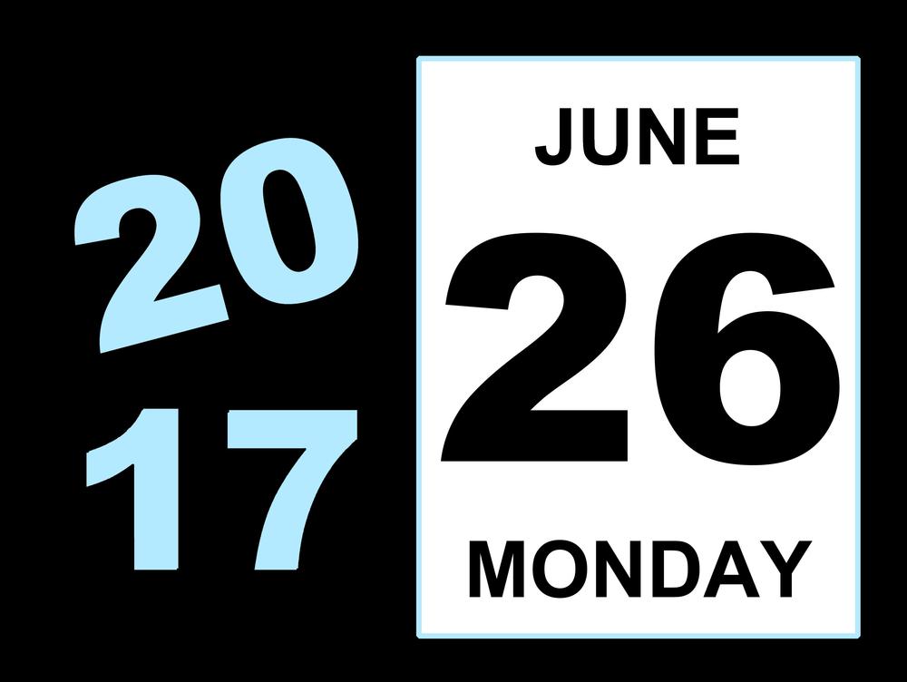 6月26日、今日は何の日??