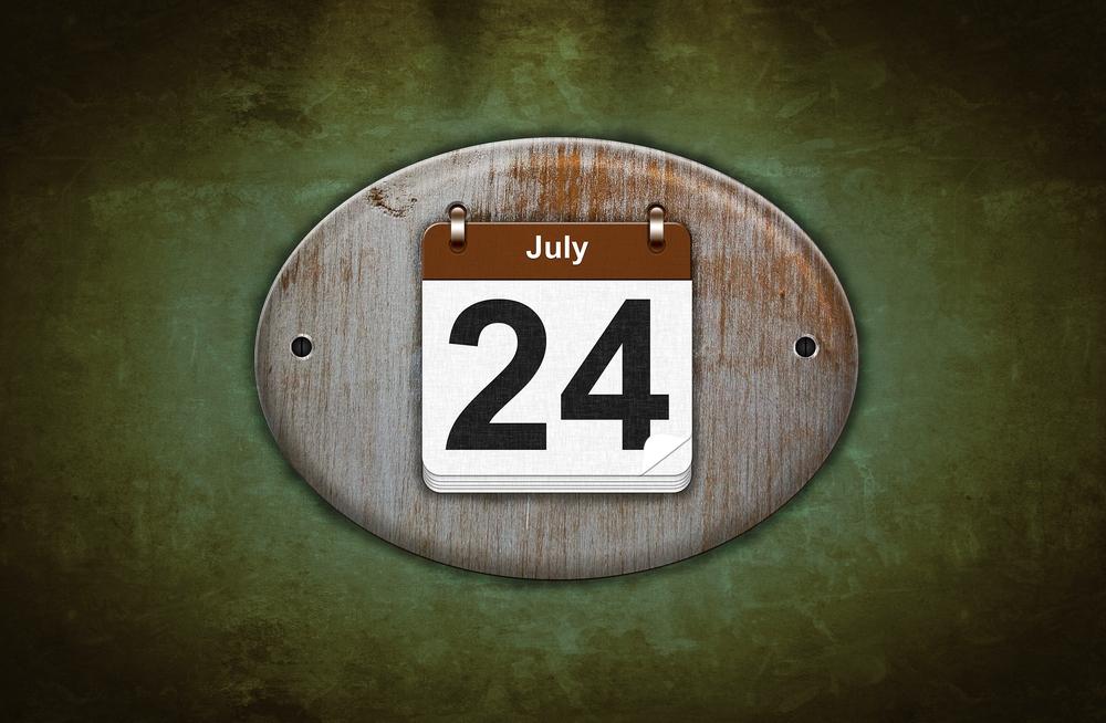 7月24日、今日は何の日??