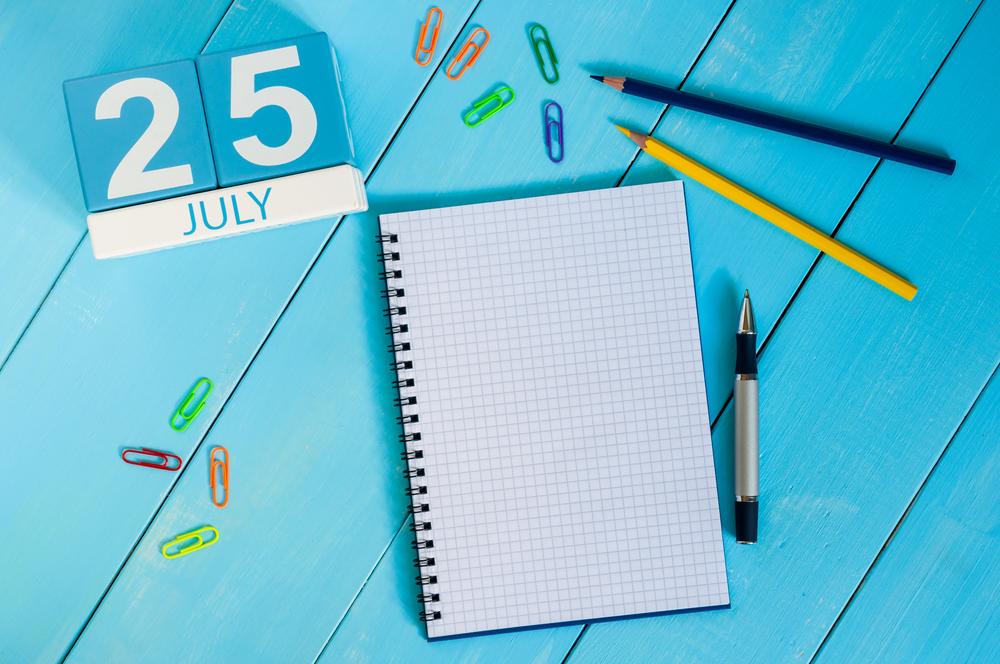 7月25日、今日は何の日??