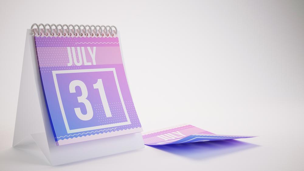 7月31日、今日は何の日?