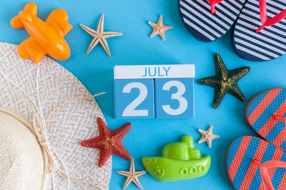 7月23日、今日は何の日??