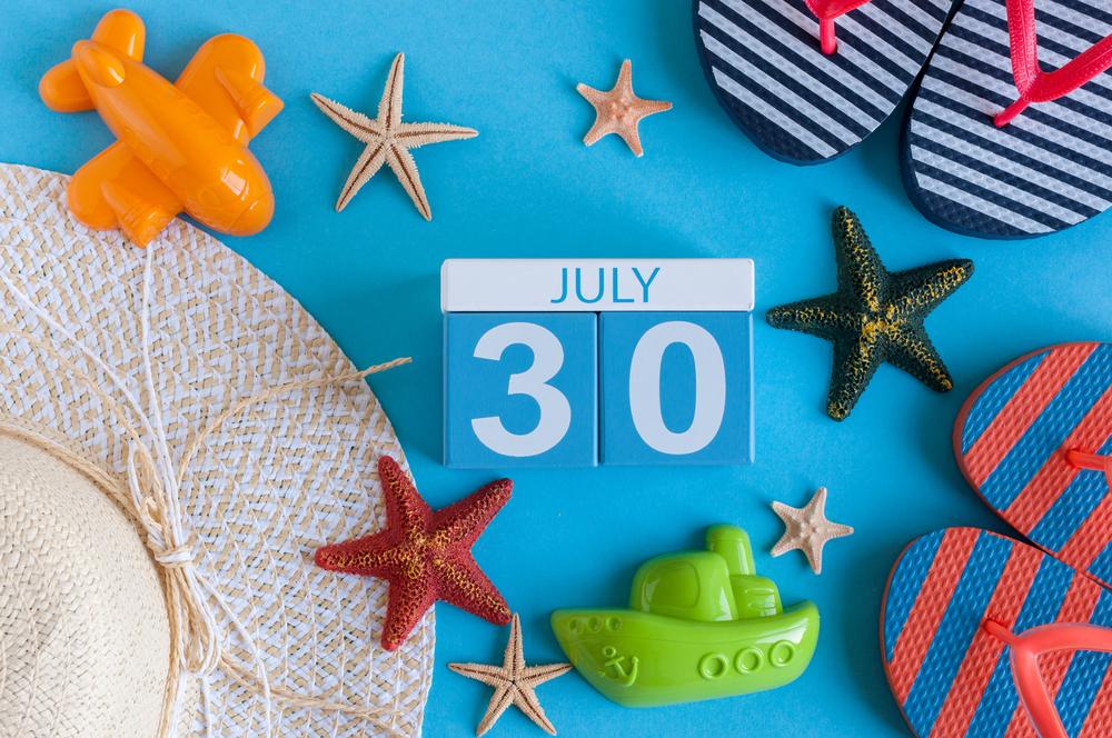7月30日、今日は何の日?
