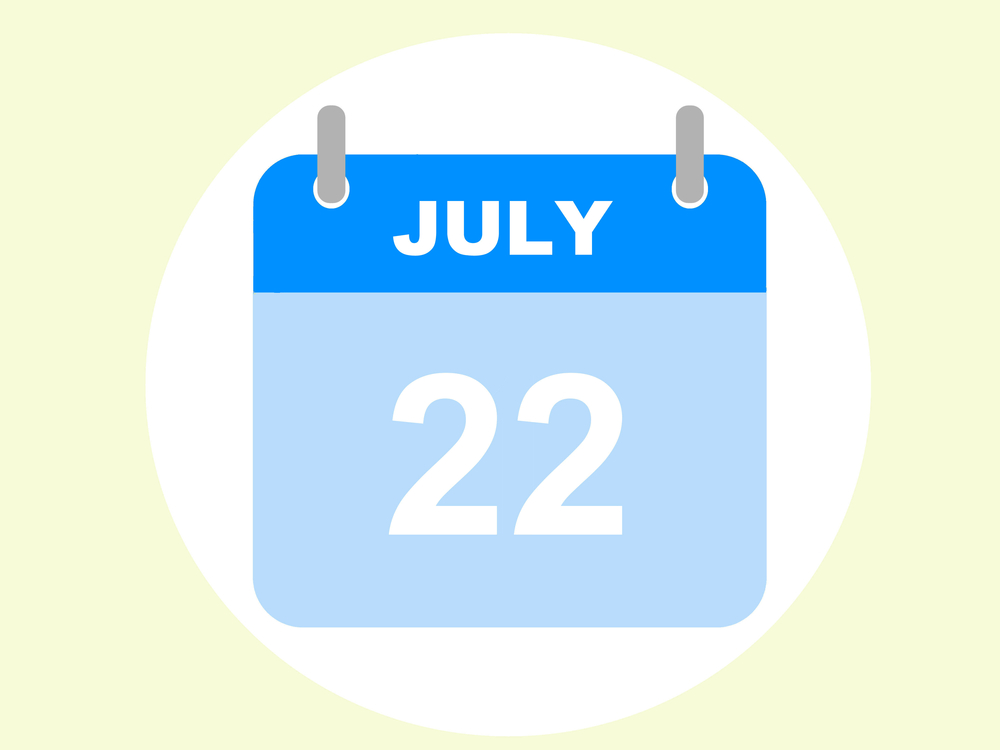 7月22日、今日は何の日??