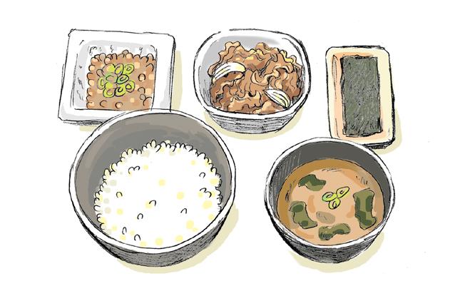 【管理栄養士監修】ハゲない朝食!吉野家の朝定食編