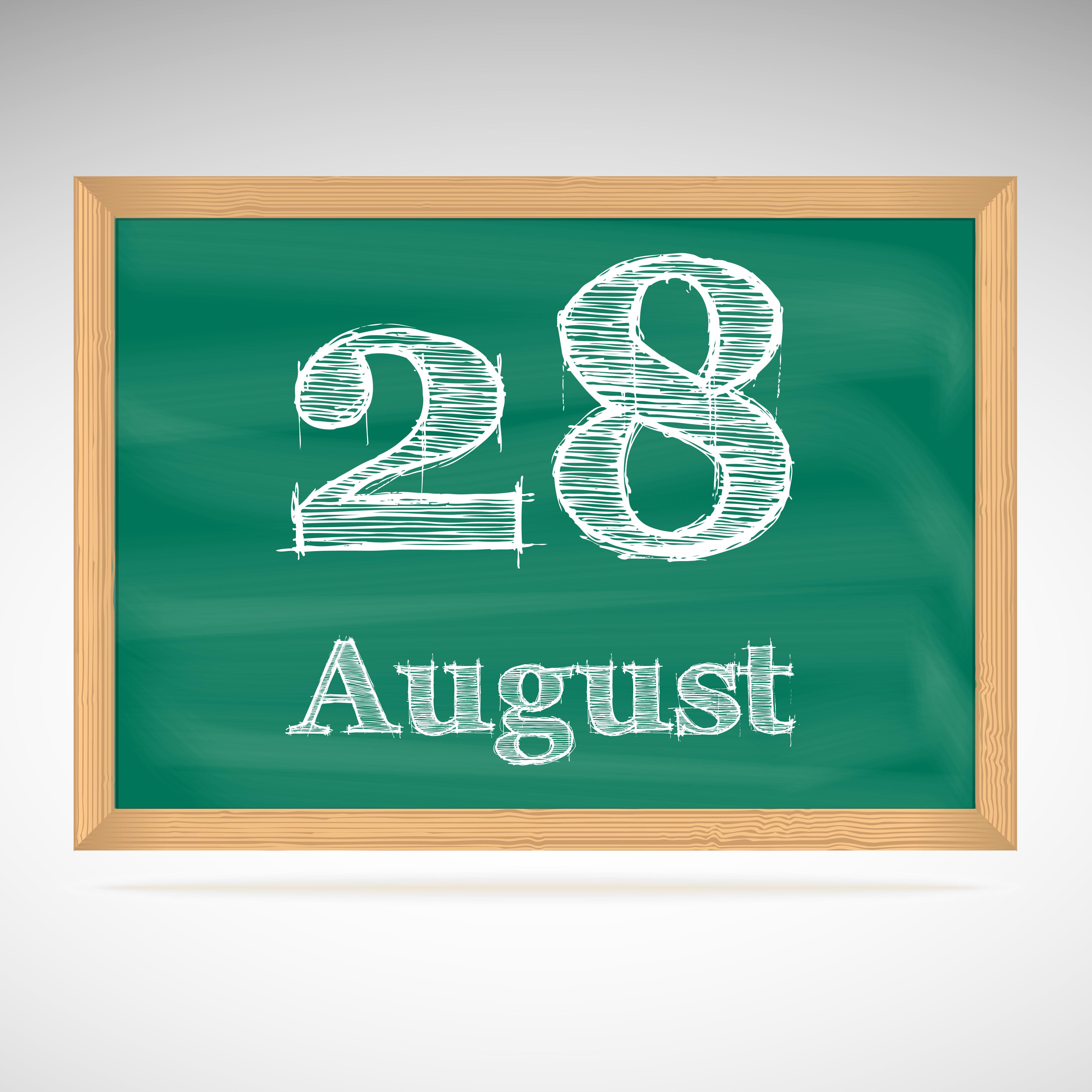 8月28日、今日は何の日?