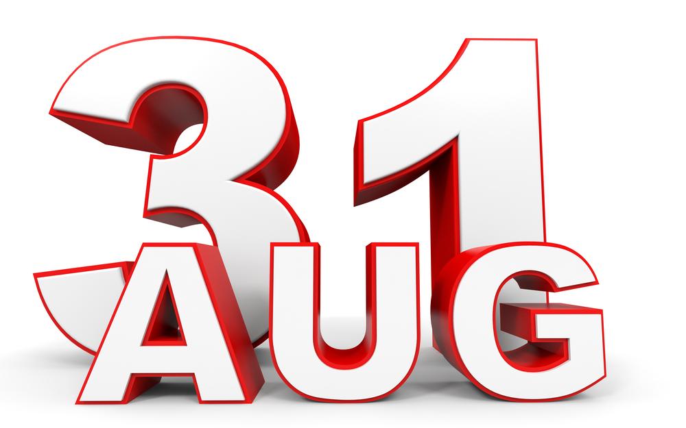 8月31日、今日は何の日?