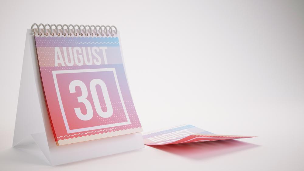 8月30日、今日は何の日?