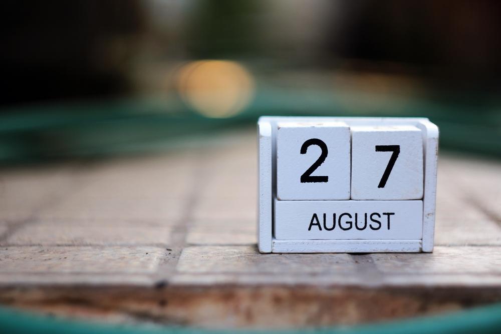 8月27日、今日は何の日?
