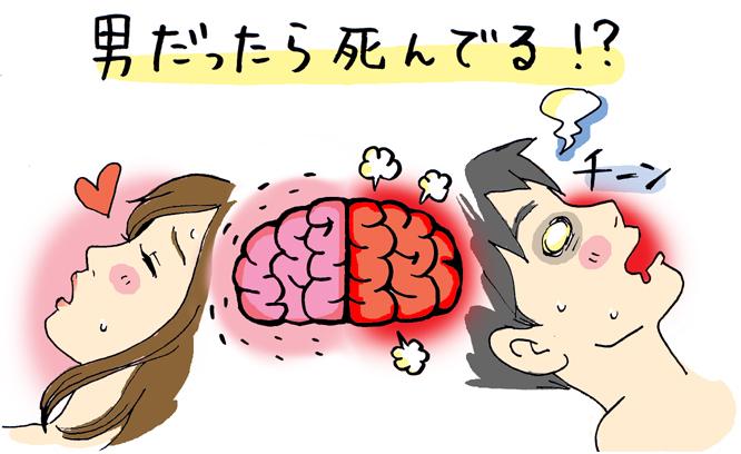 【女医監修】男の10倍感じる女。男脳と女脳