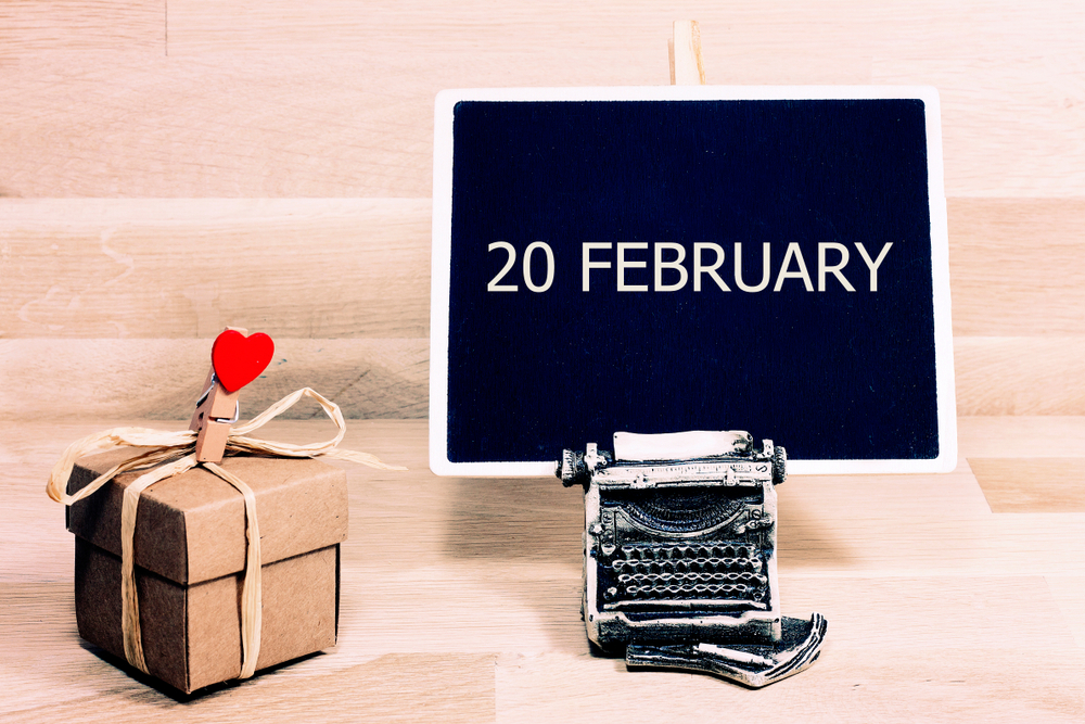 2月20日、今日は何の日?