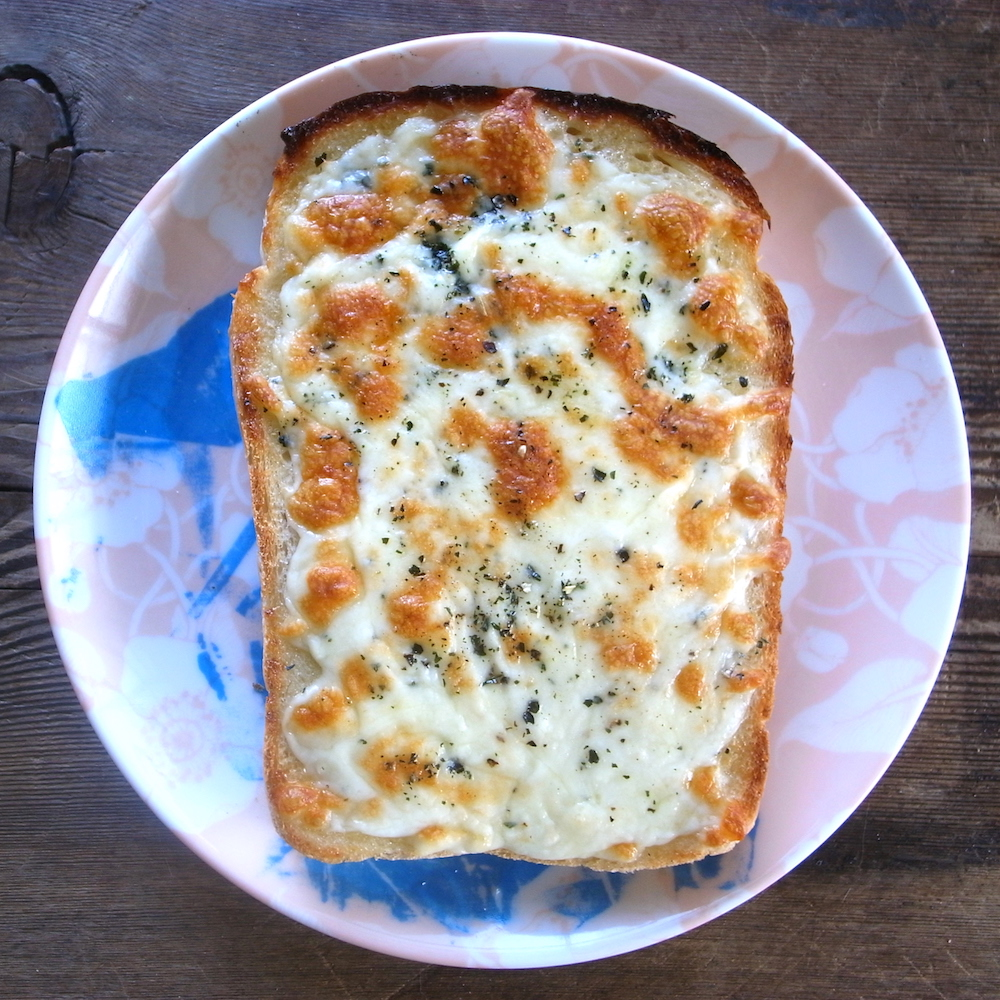 モテる男の自炊テクーー我が家の定番チーズトーストーー