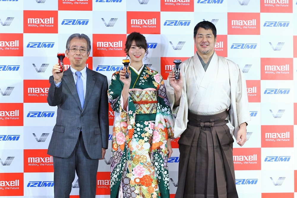IZUMI「Vシリーズシェーバー」がリニューアル! シリーズ初の5枚刃搭載!高田延彦も太鼓判◎