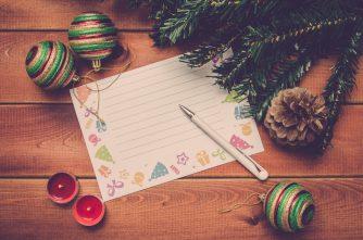 クリスマスだからこそ手紙に想いを…。彼氏彼女の記憶と形に残る最高な手紙の書き方とは!